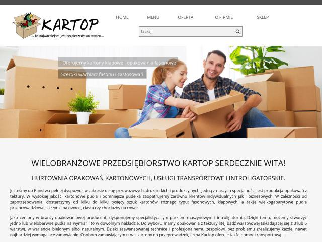 https://producent.kartop.com.pl/ - Producent pudeł